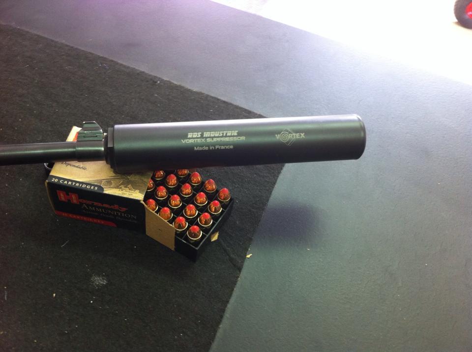 Modification complète pour Ruger en .44 pour Vortex Magnum